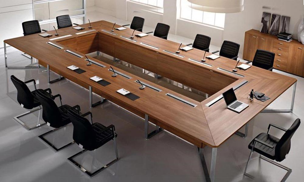 طراحی میز کنفرانس