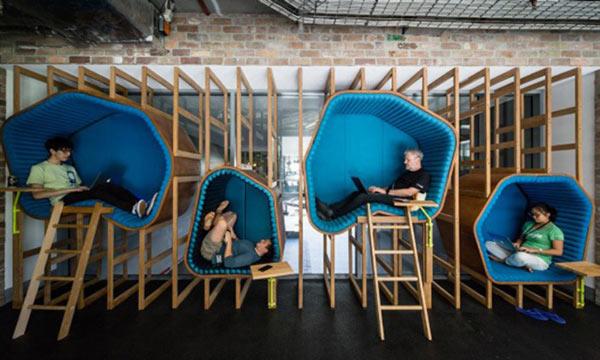 مبلمان شرکت گوگل
