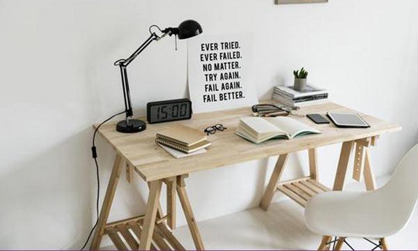 میز کارمندی چوبی + مبلمان اداری ژاویز