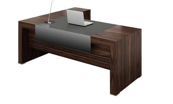 میز کارمندی چوبی + ژاویز